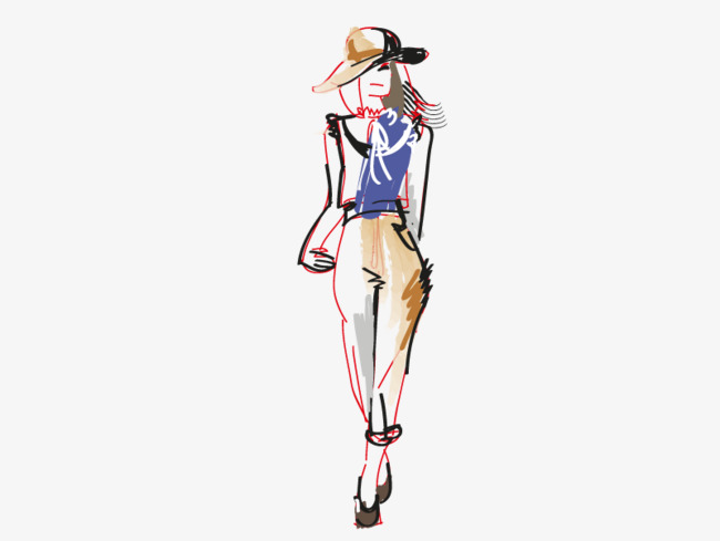 650x489 Vector Costume Design, Hd, Vector, Fashion Model Png And Vector