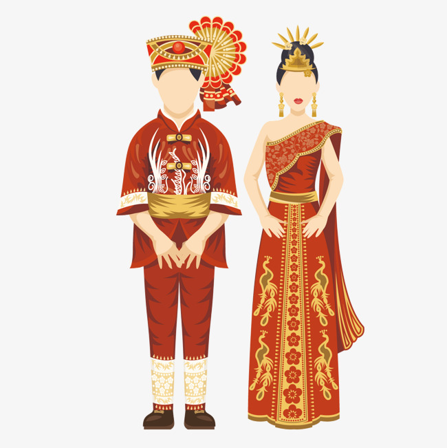 650x651 Color Thai Traditional Costumes, Color Vector, Color, Thailand Png