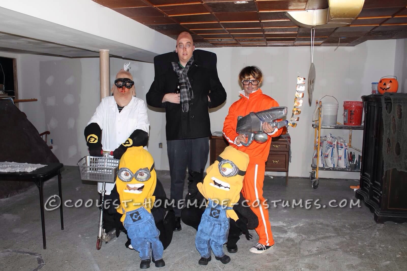 1600x1066 Cool Despicable Me Group Costume Gru, Vector, Dr. Nefario And Minions