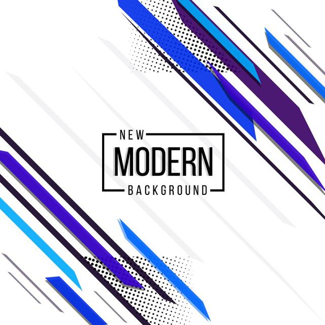 640x640 Blue And Black Theme New Modern Abstract Design Background Banner