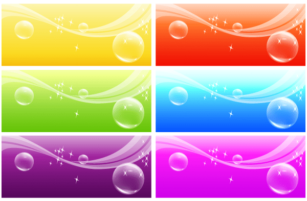 600x394 Free Vector Banner Background 123freevectors