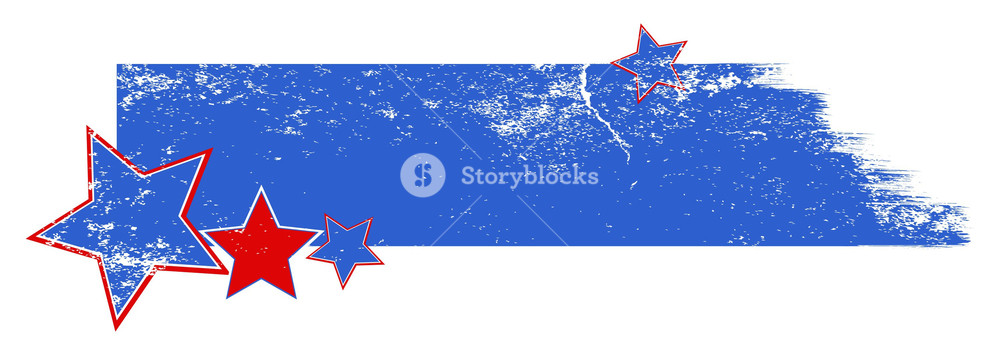 1000x355 Grunge Banner Design Background Vector Royalty Free Stock Image