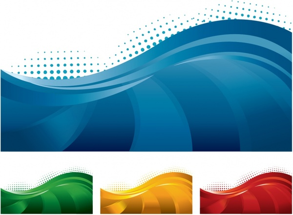 600x441 Abstract Banners Free Vector In Adobe Illustrator Ai ( .ai