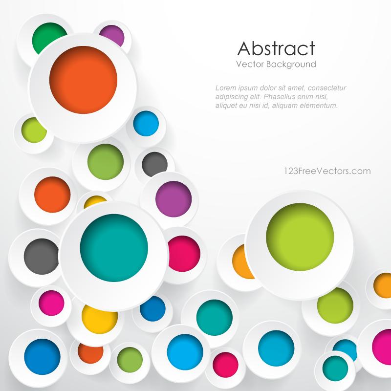 800x800 Colorful Geometric Circle Designs Background Image Crafty Prezi