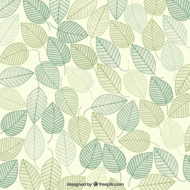 626x626 Vector ] Green Leaves Background Free Download