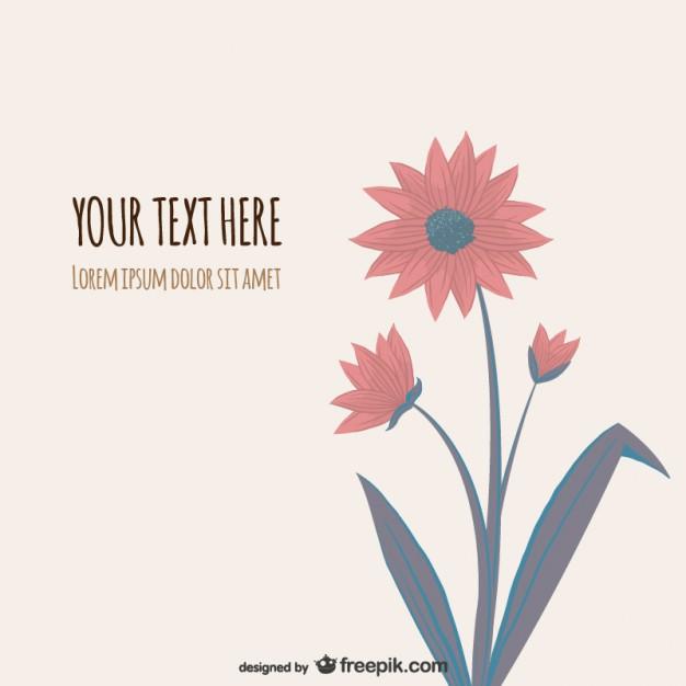 626x626 Flower Illustration Vector Vector Free Download