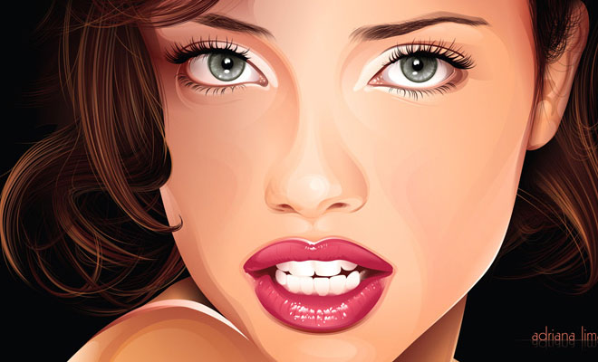 660x400 Showcase Of Best Woman Vector Tracing Amp Illustration Works
