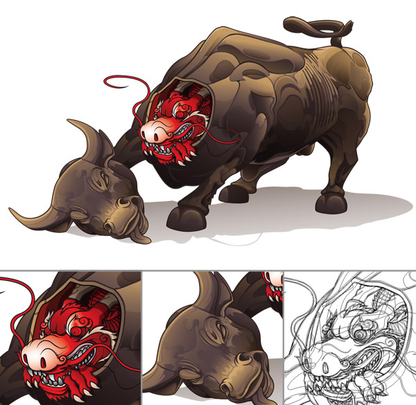 600x584 Vector Illustration Design Aleix Gordo 7