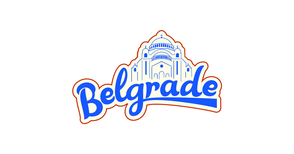 1200x628 Belgrade T Shirt Design Free Download Vector And Png The