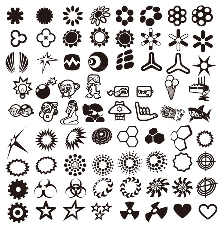 743x768 Free Vector Design Element File