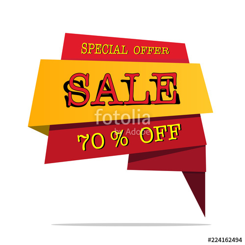 500x500 Big Sale Price Offer Deal Vector Designs With Flame On White