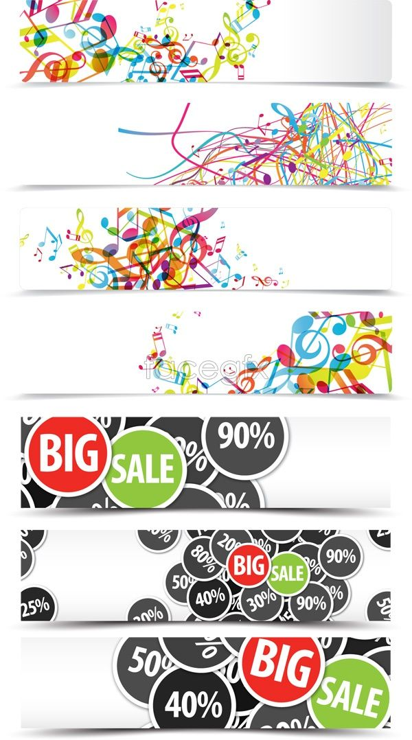 600x1078 Dynamic Sales Banner Vector Designs Sale Banner