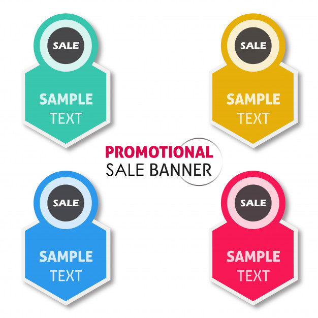 626x626 Vector Promotional Sale Banner Designs Vector Free Download