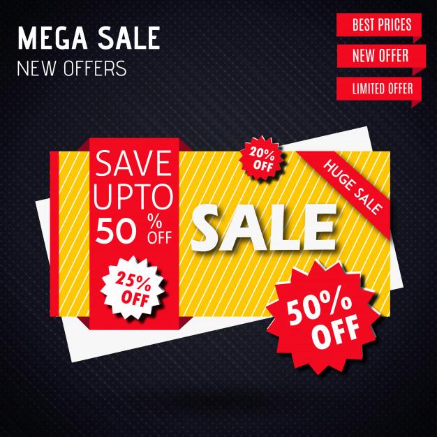 626x626 Vector Sale Banner Designs Vector Free Download