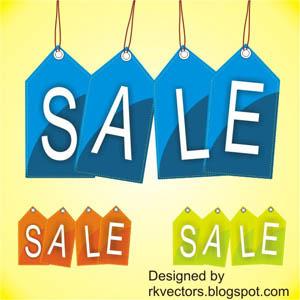 300x300 Vector Sale Price Tag Designs