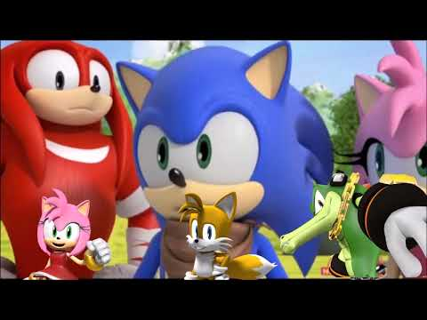 480x360 Sonic Boom S2 Ep 44 Vector Detector With Commentary From Vector