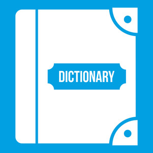 300x300 English Dictionary Royalty Free Vectors
