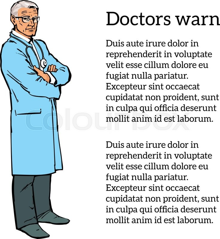 736x800 Old Man Physician. Physician Specialist. Serious Doctor. Doctor