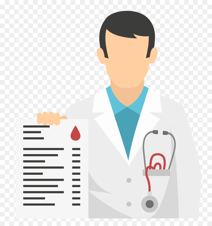 900x960 Physician Flat Design Icon