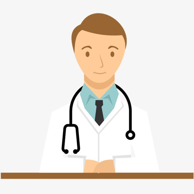 650x650 Vector Doctor, Doctor And Stethoscope, Male Doctor, Smiling Doctor