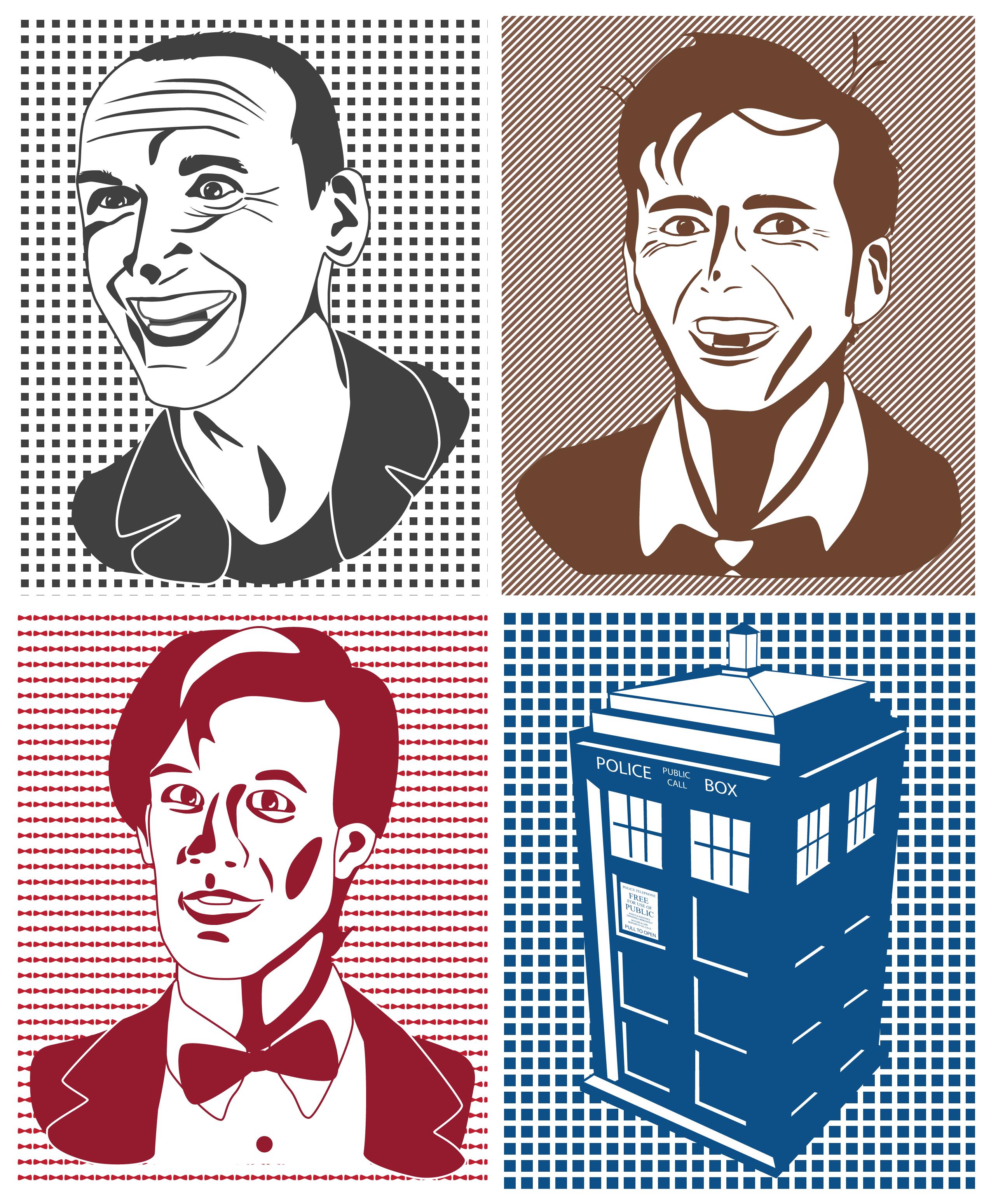 2550x3098 Doctor Who Vector Art Ready Designs