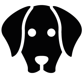 283x283 Dog Face Silhouette Silhouette Of Dog Face