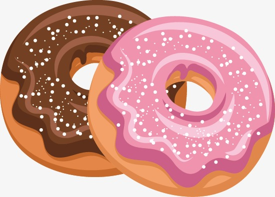 550x395 Donut Pattern Vector, Donuts, Bread, Pattern Vector Png And Vector