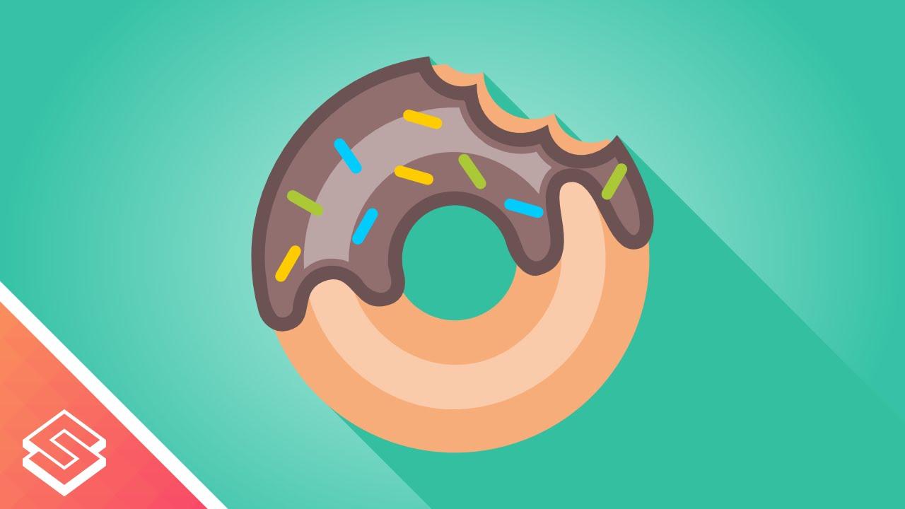 1280x720 Inkscape Tutorial Vector Donut