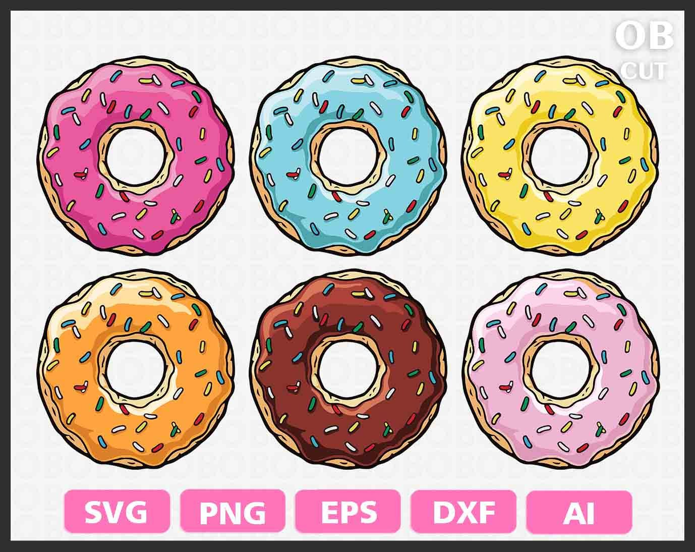 Vector Donut at GetDrawings com | Free for personal use Vector Donut