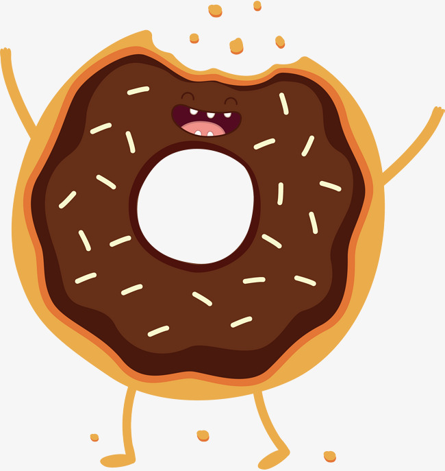650x687 Chocolate Donut Vector, Donuts, Hand Painted, Chocolate Png And