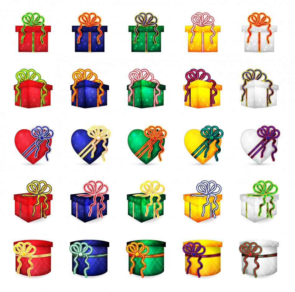 950x941 Christmas Presents Vector Download My Downloadables