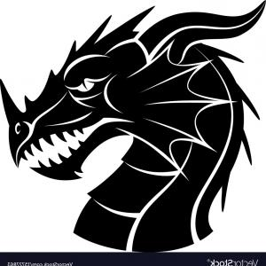 Vector Dragon Head