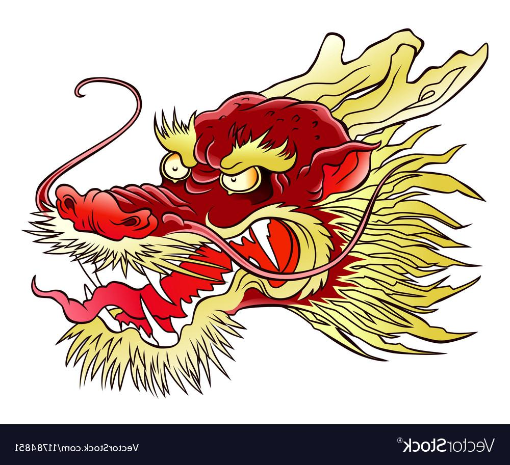 1000x913 Top Chinese Dragon Head Vector Cdr