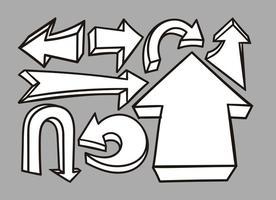 276x200 Hand Drawn Arrow Free Vector Art