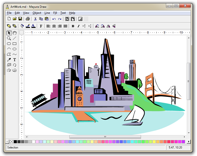 809x643 Mayura Draw Vector Drawing Program With Svg And Eps Export
