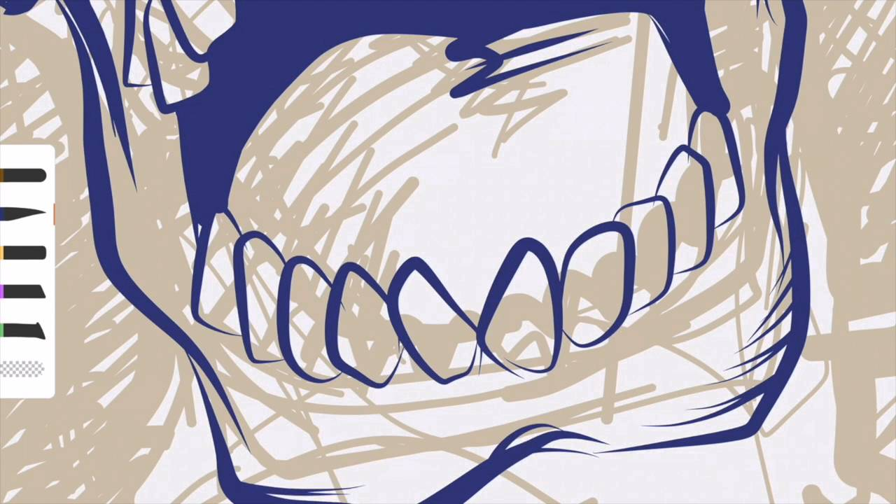 1280x720 Pencilosaurus Vector Illustration On Ipad Pro And Adobe Draw