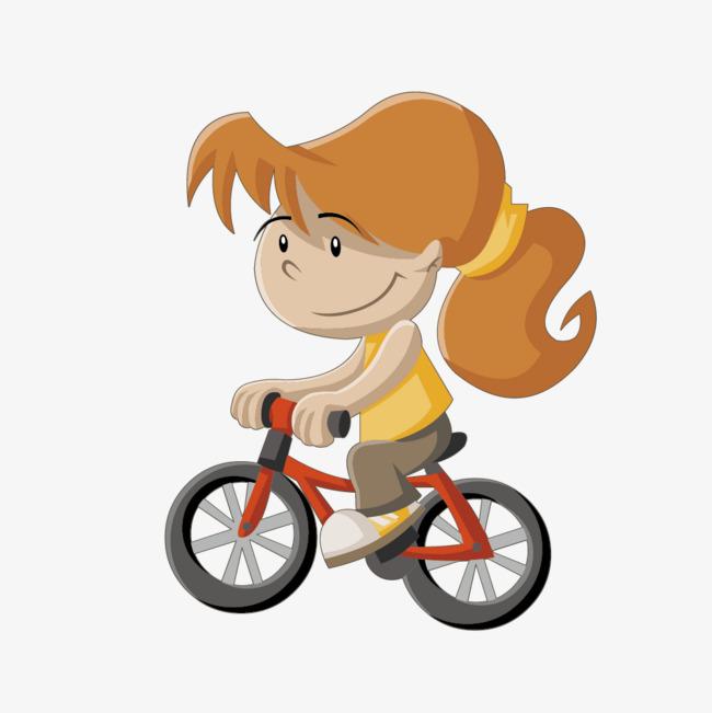 650x651 Vector Drawing Simple Girl Cycling, Girl Vector, Cycling Vector