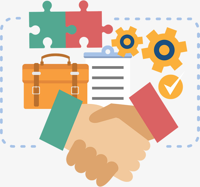 650x608 Vector Business Finance Handshake, Business Vector, Handshake