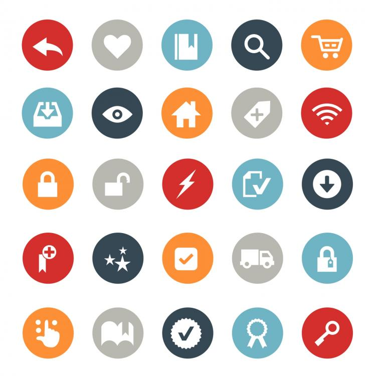 750x750 E Commerce And Online Shopping Icons Free Vector 4vector