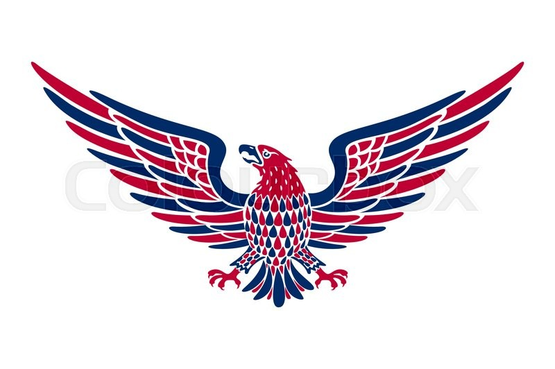 800x532 American Eagle Background Vector Art. American Eagle Background