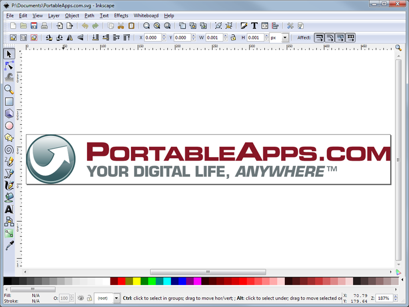 800x600 Inkscape Portable (Scalable Vector Graphics Editor)