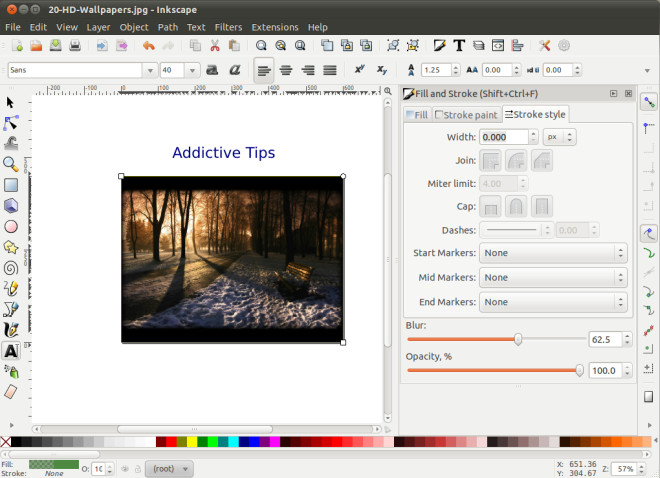660x478 Inkscape Vector Graphics Editor Adds Airbrush And Multipath Node