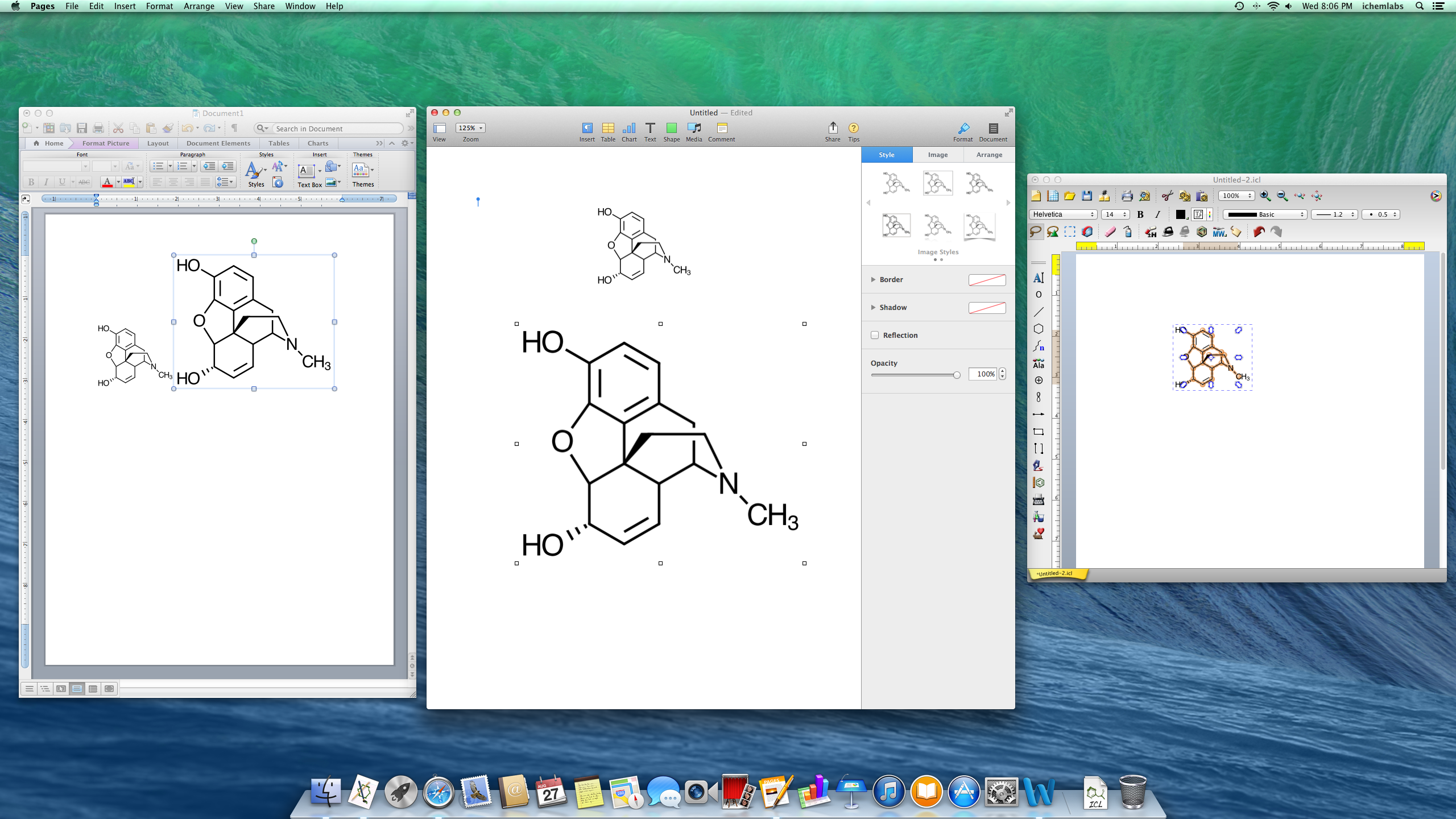 2560x1440 Screenshots Chemical Drawing Software