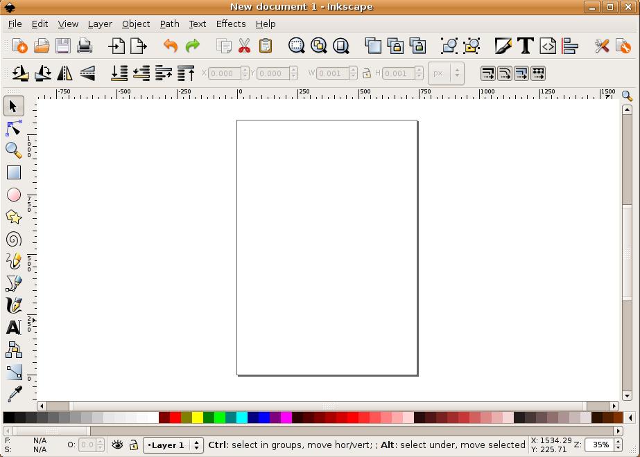 923x660 Inkscape Vector Graphics Editor In Ubuntu Debian Admin
