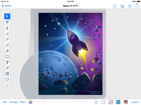 480x360 Vector Paintpad (Vector Graphics Editor) App Price Drops