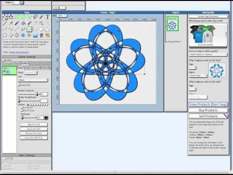 480x360 Graphic Design Online Editor Tutorial Vector Drawing Using