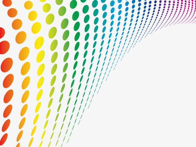 650x487 Gradient Colored Dots, Gradient Vector, Vector, Effect Png And