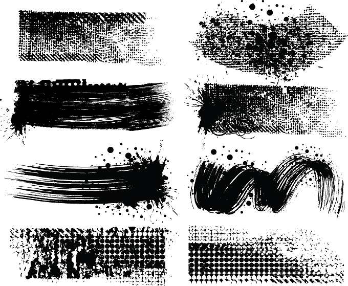 680x559 Practical Effect Of Traces Of Inkjet Ink Vector Free Vector 4vector