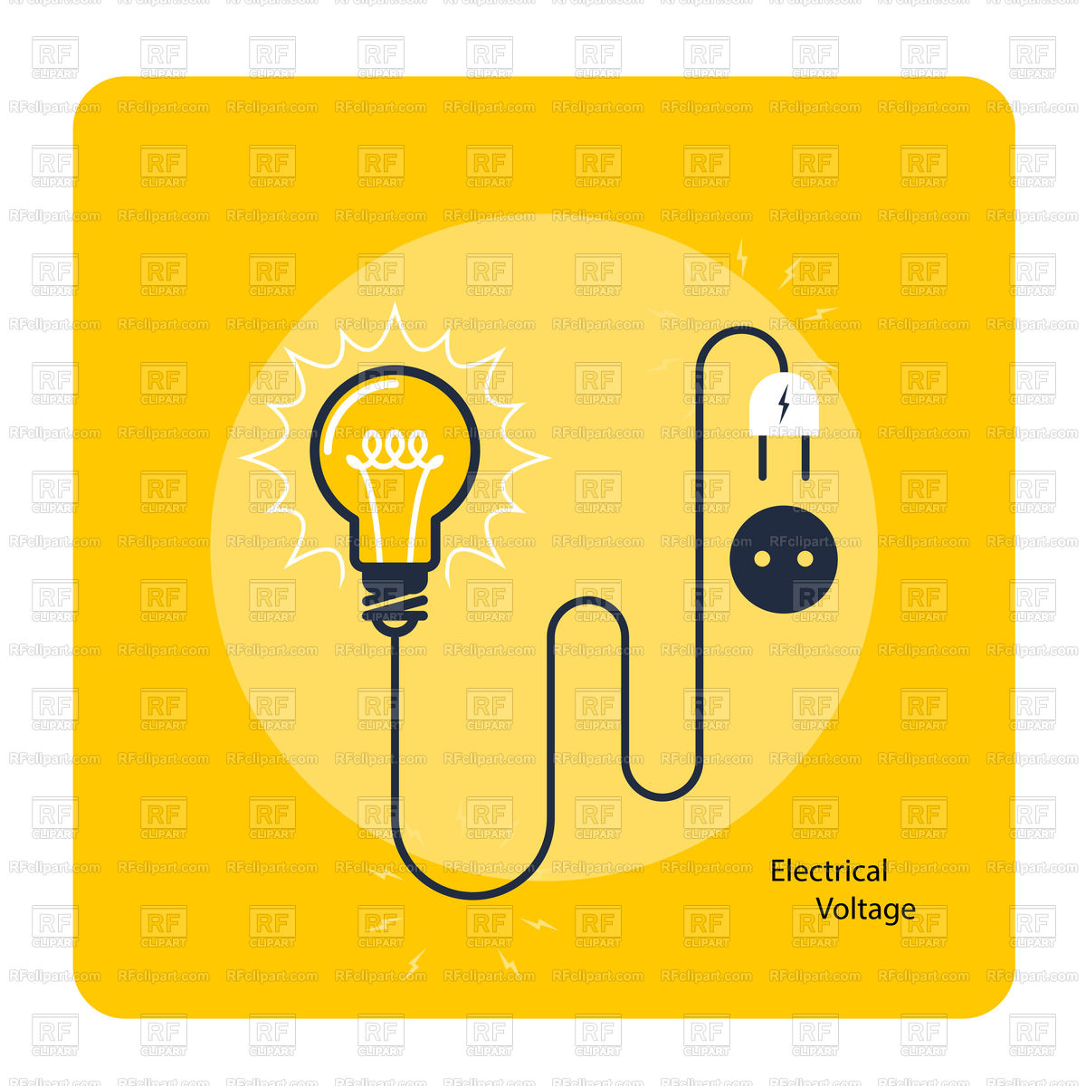 Vector Electricity At Free For Personal Use Lightbulb Powerpoint Templates Amp Backgrounds Download Directly 1200x1200 Light Bulb With Plug On Cord