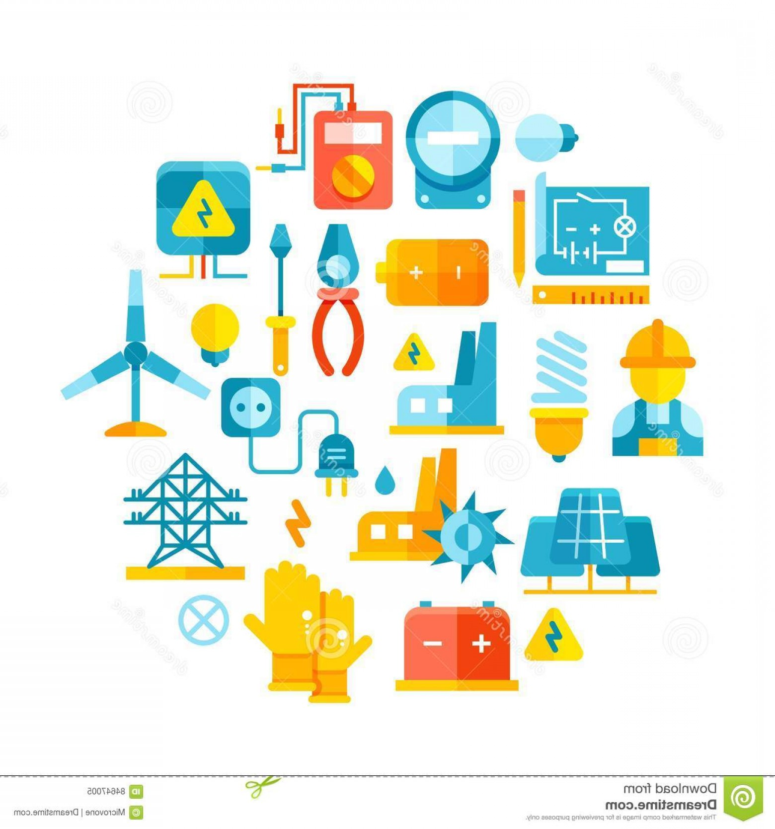 1560x1668 Stock Illustration Electricity Electric Meter Electrical Equipment